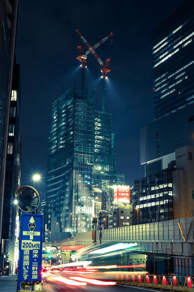 Shibuya Night Scape